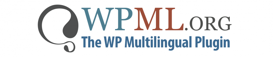wpml vector log with tag line